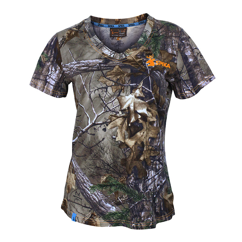 SPIKA HR Trail Camo Cotton Tee - HW-100 - Hunting Apparel - Mansfield Hunting & Fishing