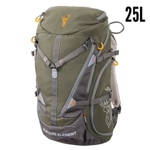 HUNTERS ELEMENT CANYON PACK 25LT - FOREST GREEN -  - Mansfield Hunting & Fishing - Products to prepare for Corona Virus