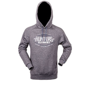 HUNTERS ELEMENT ONYX HOODIE - GREY MARLE - S / GREY MARLE - Mansfield Hunting & Fishing - Products to prepare for Corona Virus