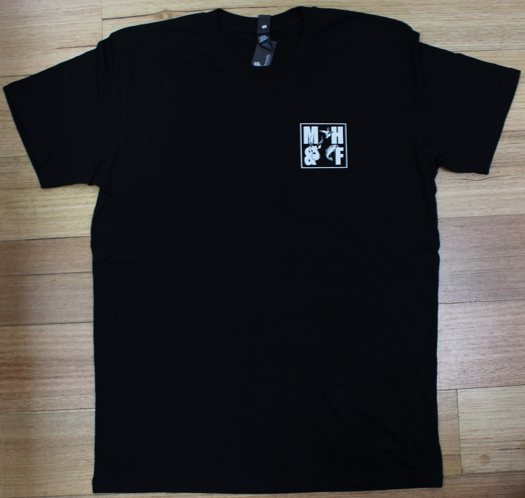 MHF TEAM T-SHIRT UNISEX BLACK