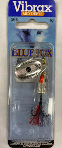 BLUE FOX VIBRAX FOX TAIL 2 - 2 / SILVER SHINER - Mansfield Hunting & Fishing - Products to prepare for Corona Virus