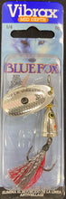 BLUE FOX VIBRAX FOX TAIL 3 - 3 / SILVER SHINER - Mansfield Hunting & Fishing - Products to prepare for Corona Virus