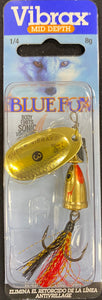 BLUE FOX VIBRAX FOX TAIL 3 - 3 / GOLDEN SHINER - Mansfield Hunting & Fishing - Products to prepare for Corona Virus