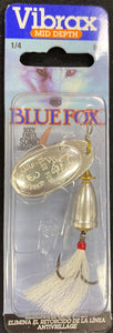 BLUE FOX VIBRAX FOX TAIL 3 - 3 / SILVER WHITE - Mansfield Hunting & Fishing - Products to prepare for Corona Virus