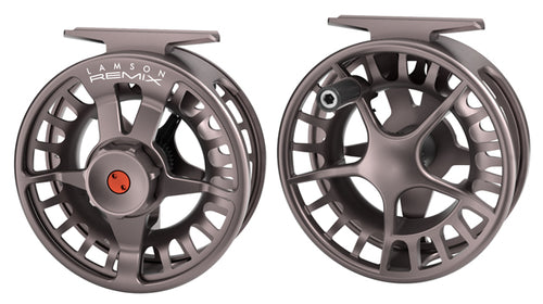 LAMSON REMIX 5/6 FLY REEL - SMOKE -  - Mansfield Hunting & Fishing - Products to prepare for Corona Virus
