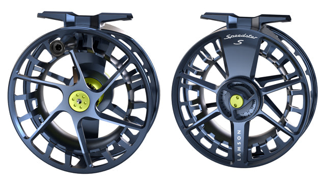 LAMSON SPEEDSTER 5/6 FLY REEL - MIDNIGHT -  - Mansfield Hunting & Fishing - Products to prepare for Corona Virus