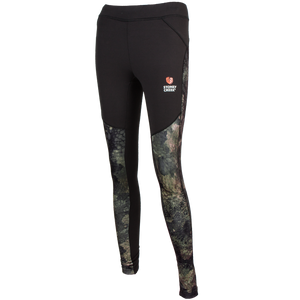 STONEY CREEK ACTIVE TIGHTS - 8 / BLACK/TCU - Mansfield Hunting & Fishing - Products to prepare for Corona Virus