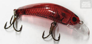 Oar-Gee Lil Ripper 1.2m Lure  - Assorted Colours - LIL RIPPER / QRED8 - Mansfield Hunting & Fishing - Products to prepare for Corona Virus