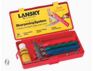 LANSKY SHARPENING SYSTEM STANDARD 3 STONE -  - Mansfield Hunting & Fishing - Products to prepare for Corona Virus