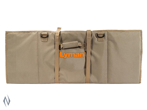 LYMAN LONG RANGE SHOOTING TAC MAT FLAT DARK EARTH -  - Mansfield Hunting & Fishing - Products to prepare for Corona Virus