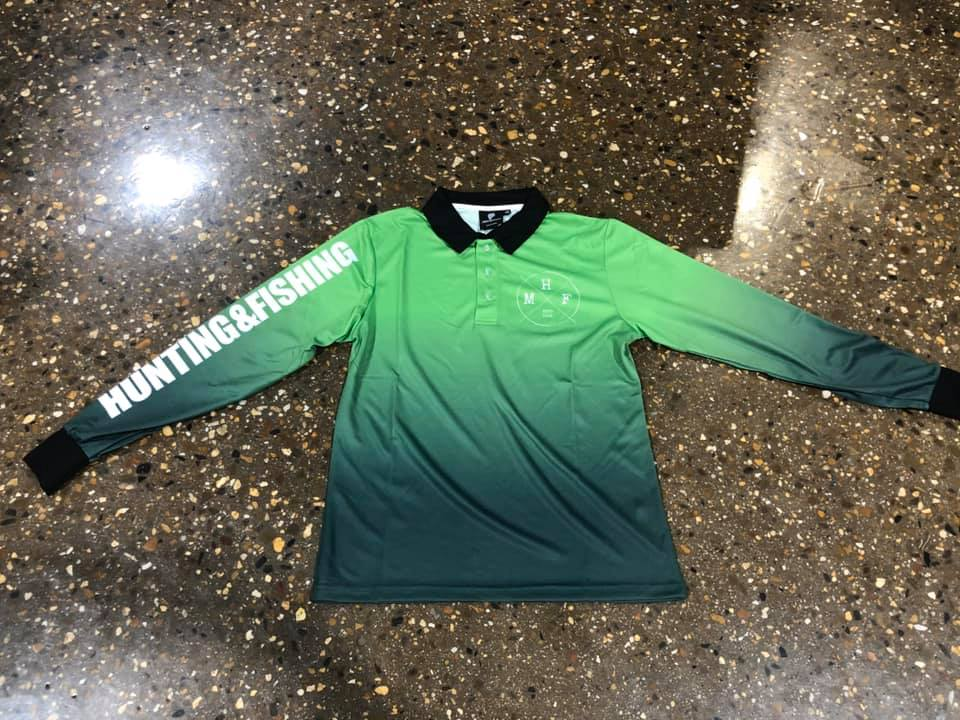 MHF ADULTS LIFESTYLE FISHING SHIRT - GREEN - S / GREEN - Mansfield Hunting & Fishing - Products to prepare for Corona Virus