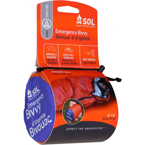 ADVENTURE MEDICAL KIT SOL EMERGENCY BIVVY -  - Mansfield Hunting & Fishing - Products to prepare for Corona Virus