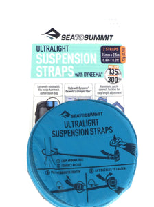 SEA TO SUMMIT ULTRALIGHT SUSPENSION STRAPS -  - Mansfield Hunting & Fishing - Products to prepare for Corona Virus