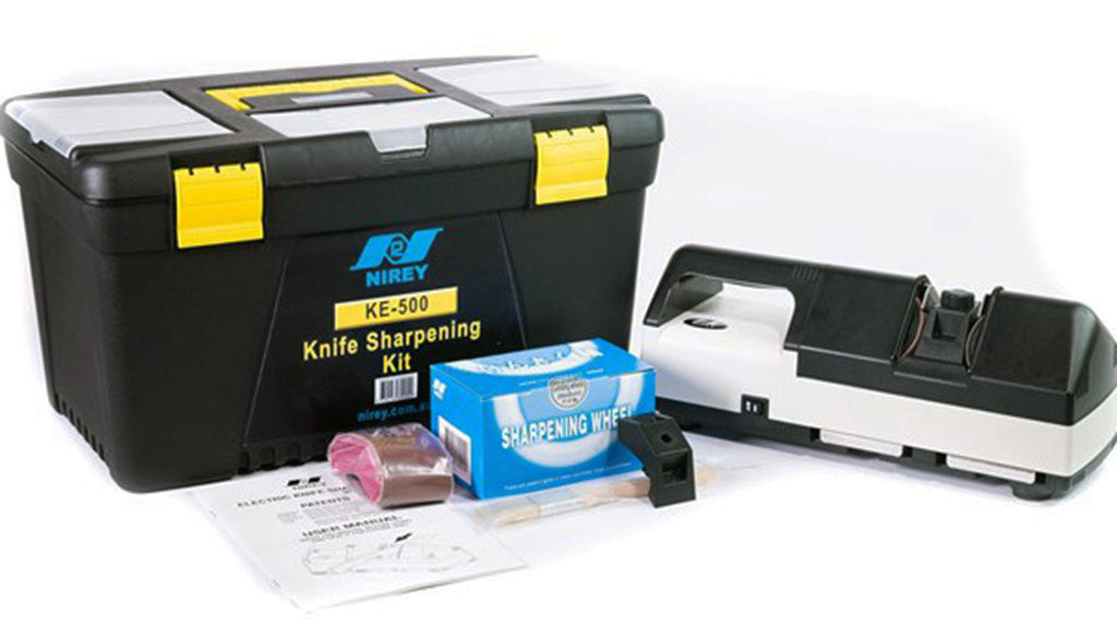 NIREY KE-500 SHARPENING KIT IN TOOLBOX -  - Mansfield Hunting & Fishing - Products to prepare for Corona Virus