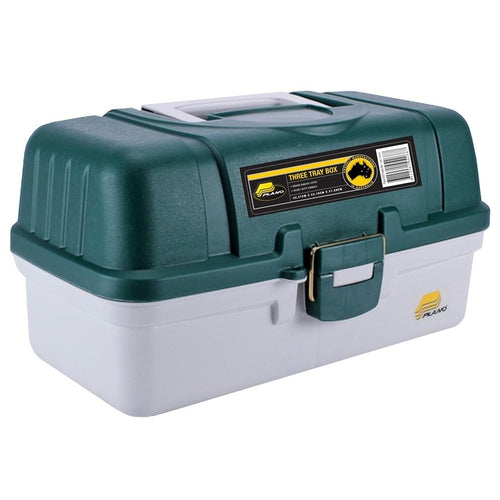 PLANO 3 TRAY TACKLE BOX 6103 -  - Mansfield Hunting & Fishing - Products to prepare for Corona Virus