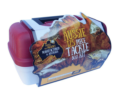 PLANO 6101 AUSSIE 125 PIECE TACKLE BOX -  - Mansfield Hunting & Fishing - Products to prepare for Corona Virus