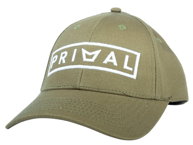 PRIMAL LOW DOWN CAP - OLIVE -  - Mansfield Hunting & Fishing - Products to prepare for Corona Virus