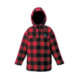 SWANNDRI BRIXTON KIDS BUSHSHIRT - 4 / RED/BLACK - Mansfield Hunting & Fishing - Products to prepare for Corona Virus