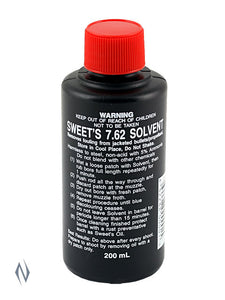 SWEETS SOLVENT 7.62 200ML -  - Mansfield Hunting & Fishing - Products to prepare for Corona Virus