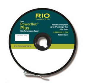 RIO POWERFLEX PLUS TIPPET -  - Mansfield Hunting & Fishing - Products to prepare for Corona Virus