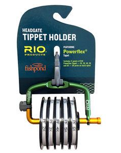 FISHPOND HEADGATE TIPPET HOLDER WITH RIO POWERFLEX -  - Mansfield Hunting & Fishing - Products to prepare for Corona Virus