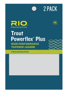 RIO TROUT POWERFLEX PLUS TAPERED LEADER 9FT 2 PACK -  - Mansfield Hunting & Fishing - Products to prepare for Corona Virus