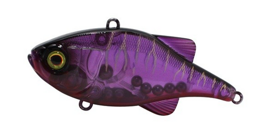 JACKALL 85MM DOOZER SINKING - GHOST PURPLE TIGER - Mansfield Hunting & Fishing - Products to prepare for Corona Virus
