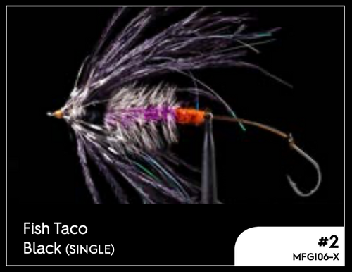 MANIC FISH TACO BLACK #2 -  - Mansfield Hunting & Fishing - Products to prepare for Corona Virus