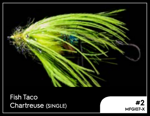 MANIC FISH TACO CHARTEUSE #2 -  - Mansfield Hunting & Fishing - Products to prepare for Corona Virus