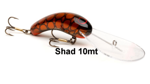 Oar-Gee Shad 10m Lure - Assorted Colours