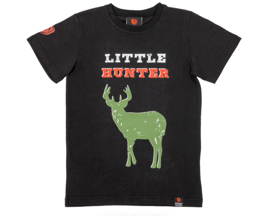 STONEY CREEK KIDS HUNTING LITTLE HUNTER TEE