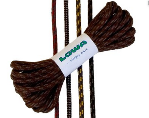 LOWA LACES BROWN/ GREY 180CM -  - Mansfield Hunting & Fishing - Products to prepare for Corona Virus