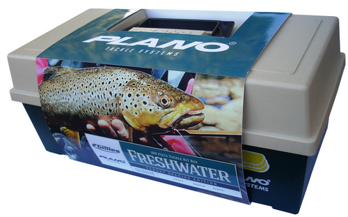 PLANO 2100 100 PIECE FRESHWATER TACKLE KIT -  - Mansfield Hunting & Fishing - Products to prepare for Corona Virus