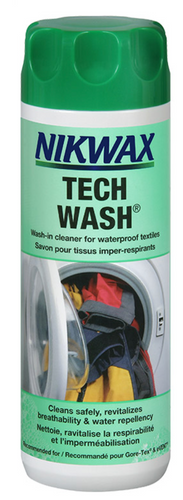 NIKWAX TECH WASH 300ML -  - Mansfield Hunting & Fishing - Products to prepare for Corona Virus