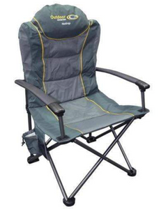 OUTDOOR CONNECTION HASTINGS CHAIR GREY -  - Mansfield Hunting & Fishing - Products to prepare for Corona Virus