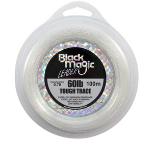 BLACK MAGIC TOUGH TRACE - 60LB - Mansfield Hunting & Fishing - Products to prepare for Corona Virus