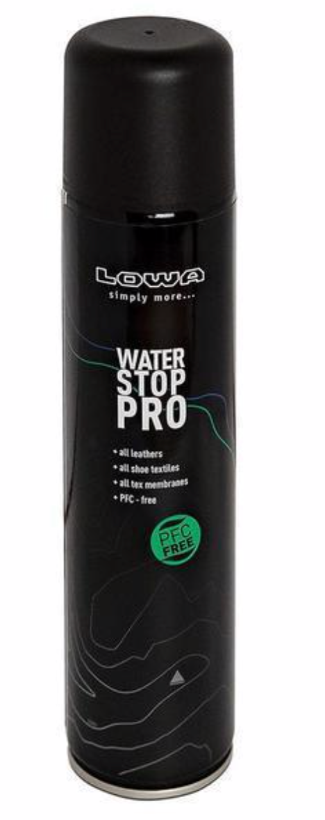 LOWA WATER STOP PRO PFC FREE 300ML -  - Mansfield Hunting & Fishing - Products to prepare for Corona Virus