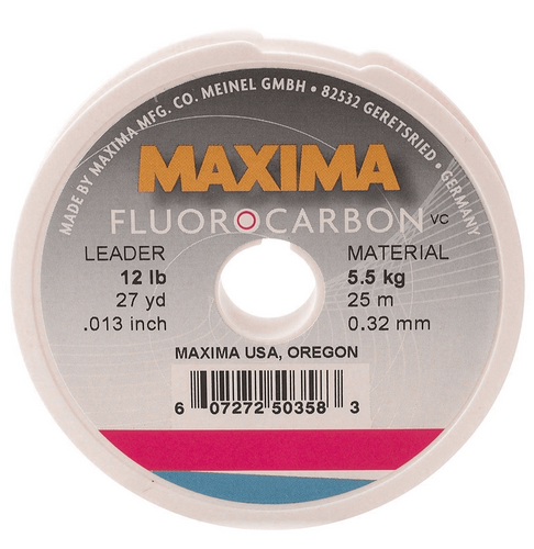 MAXIMA FLUROCARBON LEADER -  - Mansfield Hunting & Fishing - Products to prepare for Corona Virus