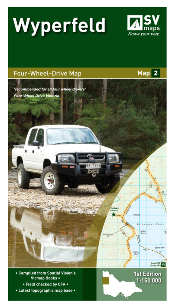 SV MAPS - WYPERFIELD -  - Mansfield Hunting & Fishing - Products to prepare for Corona Virus