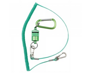 DR SLICK MAGNETIC NET HOLDER CARABINER & LANYARD -  - Mansfield Hunting & Fishing - Products to prepare for Corona Virus