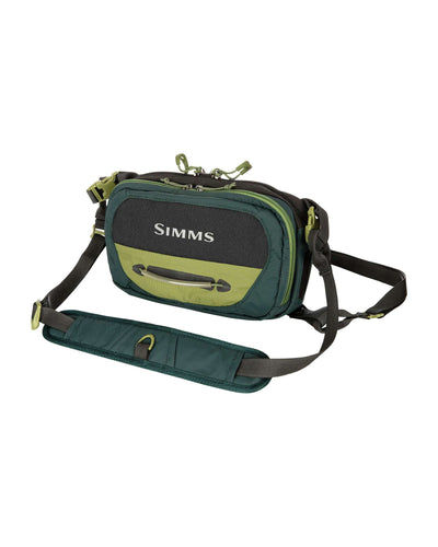 SIMMS FREESTONE CHEST PACK - SHADOW GREEN -  - Mansfield Hunting & Fishing - Products to prepare for Corona Virus