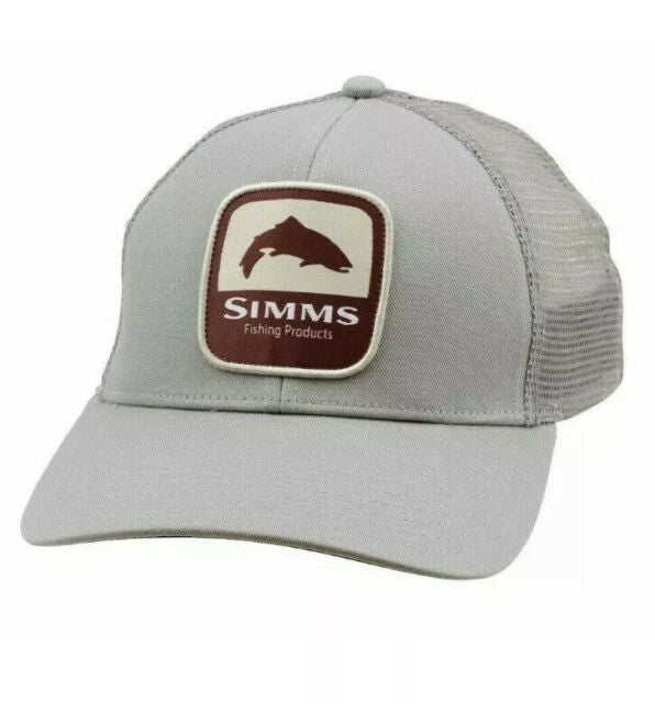 SIMMS TROUT PATCH TRUCKER - BOULDER -  - Mansfield Hunting & Fishing - Products to prepare for Corona Virus