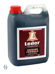 LEDER TANNING FORMULA 2.5LTR -  - Mansfield Hunting & Fishing - Products to prepare for Corona Virus