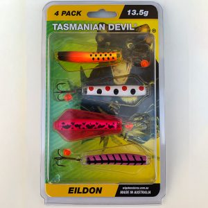 TASSIE DEVIL - LAKE EILDON 4 PACK -  - Mansfield Hunting & Fishing - Products to prepare for Corona Virus