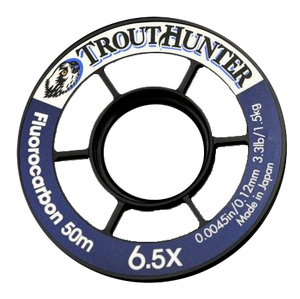 TROUT HUNTER FLUOROCARBON TIPPET 50M -  - Mansfield Hunting & Fishing - Products to prepare for Corona Virus