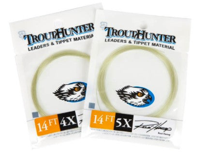 TROUT HUNTER HARROP LEADER 14FT -  - Mansfield Hunting & Fishing - Products to prepare for Corona Virus
