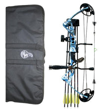 Vulture Aid Deluxe Compound Bow Package - Blue Camo or Muddy Girl Camo 45lb -  - Mansfield Hunting & Fishing - Products to prepare for Corona Virus