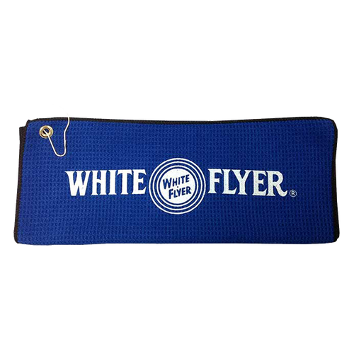 WHITE FLYER SHOOTING TOWEL