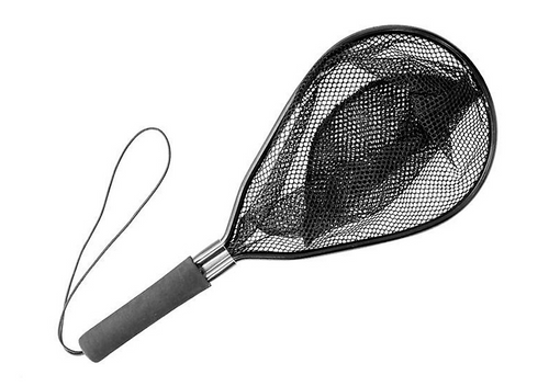 WILSON FISH FRIENDLY LANDING NET/LIVE WELL BAIT SCOOP NET -  - Mansfield Hunting & Fishing - Products to prepare for Corona Virus