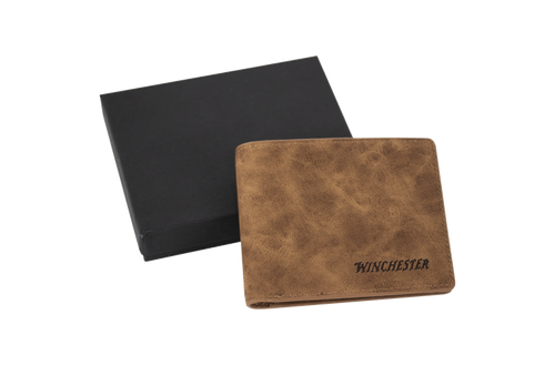 WINCHESTER LEATHER WALLET -  - Mansfield Hunting & Fishing - Products to prepare for Corona Virus